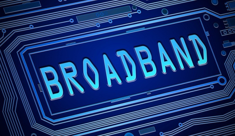 Good quality of broadband connection