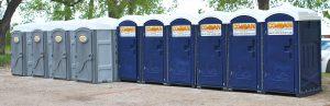 portable restroom rent