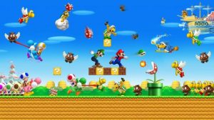 all of the super mario characters